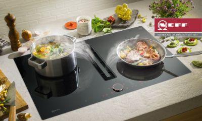 Integrierter kochfeldabzug von neff ihr küchenstudio aus